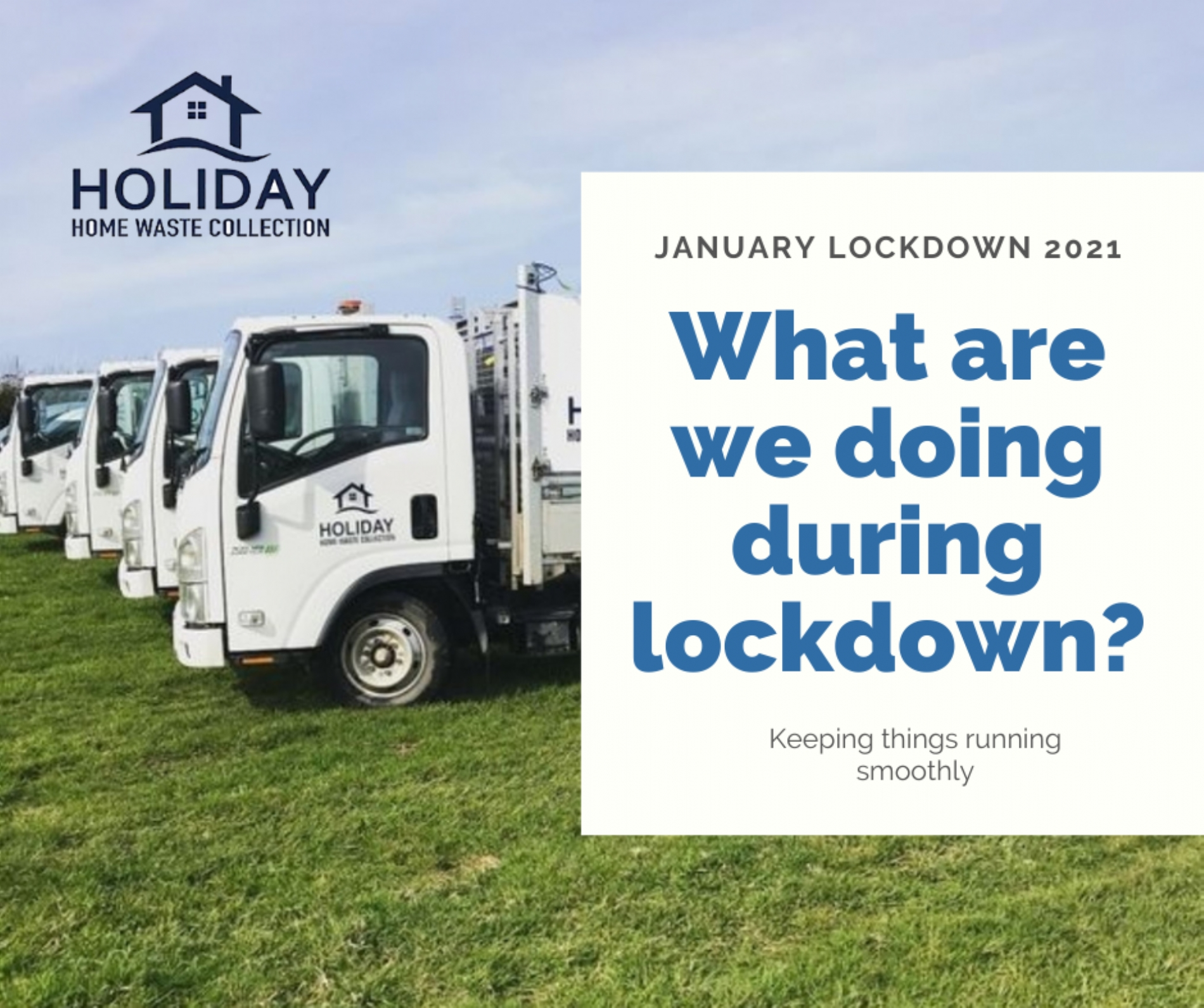 Waste Collections During Lockdown January 2021